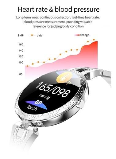 JBL Moda Akıllı Saat Su Geçirmez Smartwatch Gümüş Renkli